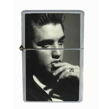 Elvis Presley Windproof Refillable Oil Lighter with Gift Box Art D 28