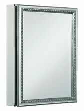 KH K-CB-CLW2026SS 20 in. x 26 in. Recessed or Surface Mount Medicine Cabinet