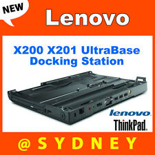 New Lenovo 43R8781 ThinkPad X200 X201 UltraBase Docking Station X200s X201s