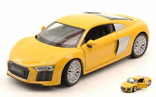 Audi R8 V10 2016 Yellow 1:24 Model 24065Y WELLY