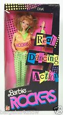 1986 BARBIE AND THE ROCKERS DIVA REAL DANCING ACTION NRFB