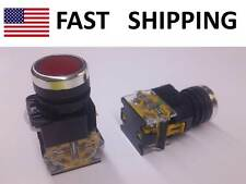 Momentary HEAVY DUTY push button SWITCH - DPST - Start / Stop Industrial SW