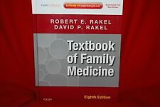 Textbook Of Family Medicine Hardcover Book 8th Edition R. Rakel  Free Shipping