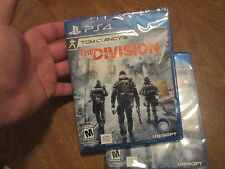 Tom Clancy's The Division PS4 SONY VIDEOGAME NEW FACTORY SEALED