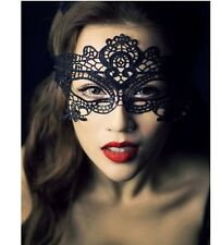 Black Sexy Lace Mask Masquerade Fancy Costume Party Ball Hollow Flower Eye Mask