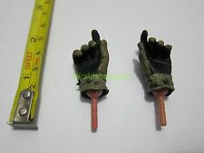 "1/6 Scale Army Gloves Hands for 12"" Action figure Toys"