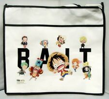 Anime One Piece Ruffy Tony Chopper x BAIT SD Group Mini Tote Bag(White)