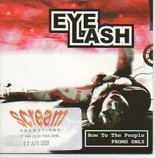 (N771) Eye Lash, Bow to the People - DJ CD