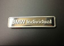 Genuine BMW Individual Lettering Badge Emblem Plaque original