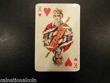 Vintage Ferd. Piatnik & Sons, Vienna King of Hearts small playing card