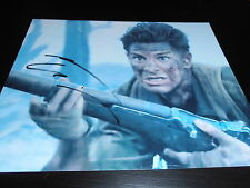ANDREW GARFIELD SIGNED AUTOGRAPH 8x10 PHOTO HACKSAW RIDGE ACTION SHOT GIBSON X1
