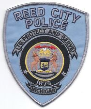 **REED CITY MICHIGAN POLICE PATCH**