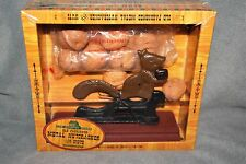 The Country Store Old Fashioned Metal Nut Cracker Squirrel Walnut Free Shipping