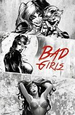 DC COMICS - BAD GIRLS POSTER - 22x34 HARLEY QUINN CATWOMAN 14136