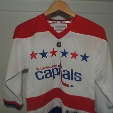NHL REEBOK Washington Capitals Hockey Jersey New Youth L/XL $60