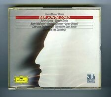 2 CDs (NEW) HANS WERNER HENZE DER JUNGE LORD E.MATHIS D.GROBE (DG 20th CENTURY)