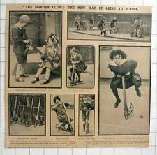 1915 30 Children Fern Bank School Hendon Lane Finchley , Scooter Club, Coasters,