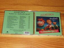 ALLMUSICA PRALINES VOL. 2 - WEIHNACHTS-SPECIAL / ALBUM-CD JESS ROBIN, TY TENDER