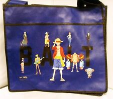 authentic Anime One Piece Ruffy Tony Chopper x BAIT Group Tote Bag(Blue)