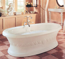 NEPTUNE ULYSSE CLASSIC 72x38 FREESTANDING BATH TUB SOAKER OPTIONAL SPA WHIRLPOOL