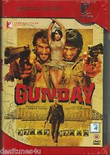 GUNDAY - OFFICIAL UK BOLLYWOOD 2 DISC DVD - FREE POST