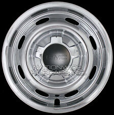 "Set of 4 fit 2004-10 GMC Canyon 15"" 6 Lug CHROME Wheel Skins Hub Caps Rim Covers"