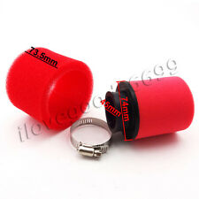 45mm Air Filter Red For Chinese 110cc 125cc 140cc Pit Dirt Bikes Motorcycle