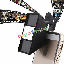 Universal 3D Mini Photograph Stereoscopic Camera Lens for Cell Phone Tablet LD