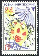 Bosnia 2002 Europa/Clown/Circus/Animation 1v ref:s3831