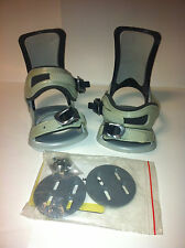 TechNine T9 Junior Snowboard Bindings NIB New Tech Nine