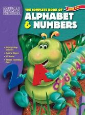 COMPLETE BOOK OF ALPHABET & NUMBERS FOR PRESCHOOL(BY LEARN AT HOME CO.)    NEW!!