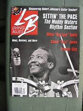 LIVING BLUES Magazine #194 (2008): Willie Smith, Ike Zimmerman, Francis Clay