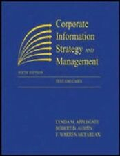 Corporate Information Strategy and Management : Text and Cases by Lynda M. Apple