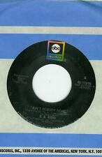 B B KING SINGLE AIN'T NOBODY HOME / ALEXIS' BOOGIE US ABC 45-11316