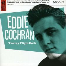 Eddie Cochran - Twenty Flight Rock [New CD]