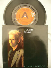 TOMMY SHAW LONELY SCHOOL / HEADS UP a&m 231 demo / promo NEAR MINT
