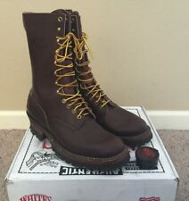 "Whites Brown SmokeJumpers  400BV 10"" 10.5D  Brand new Logger boots"