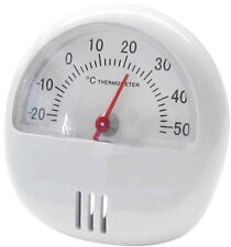Magnetic Thermometer with Stand Fridge Room Temperature New Mini Gauge Dial Shed