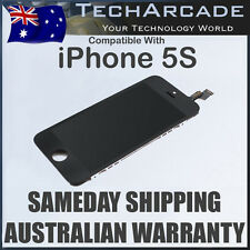 iPhone 5S Genuine Black LCD Digitizer Display Front Glass Touch Screen Assembly