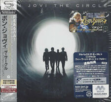 CD--BON JOVI--THE CIRCLE--JAPAN -CD+DVD-NEW