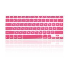 "Russian / English HOT PINK Silicone Keyboard Cover for Macbook Pro 13"" 15"" 17"""