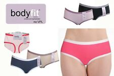 Womens Girls Seamless no V.P.L Smooth & Sophisticated Briefs Knickers 6 Colours