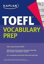 Kaplan TOEFL Vocabulary Prep by Kaplan (2015, Paperback)