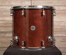 PDP 16x18 Concept Maple Floor Tom Transparent Walnut