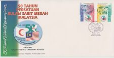 (FDC98017) MALAYSIA 1998 50 Years Red Crescent Society First Day Cover FDC