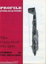Profile Publications - Aircraft No. 99 - Focke-Wulf Fw200
