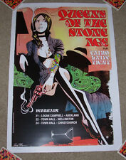 QUEENS OF THE STONE AGE concert gig tour poster NEW ZEALAND TOUR Feb 2011 print