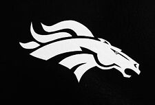 "(2) Denver Broncos 6.5"" NFL Football Team Logo Car Window Vinyl Decal Sticker"