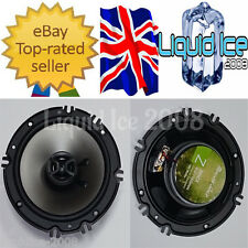 "PHOENIX GOLD 160 WATT Z65CX 6.5"" SPEAKERS & ADAPTERS VOLKSWAGEN BORA 1998-2013"