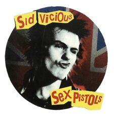 SEX PISTOLS - Sid Vicious - Aufkleber Sticker - Neu
